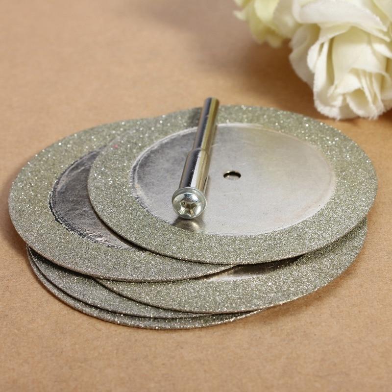 Prix de gros 5pcs 50mm disques de coupe de diamant et foret - Outils abrasifs - Photo 5