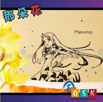 Japonés AFICIONADOS de Dibujos Animados AnoHana La Flor Que Vimos Ese Día Meiko