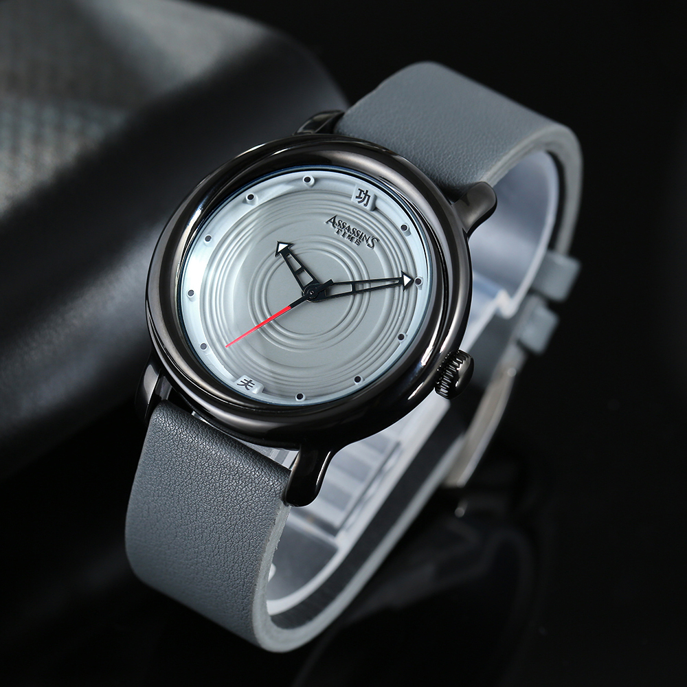 Assassin's Time Mens Luxury Vattentät Quartz Watch Man Läder Sport - Herrklockor - Foto 1