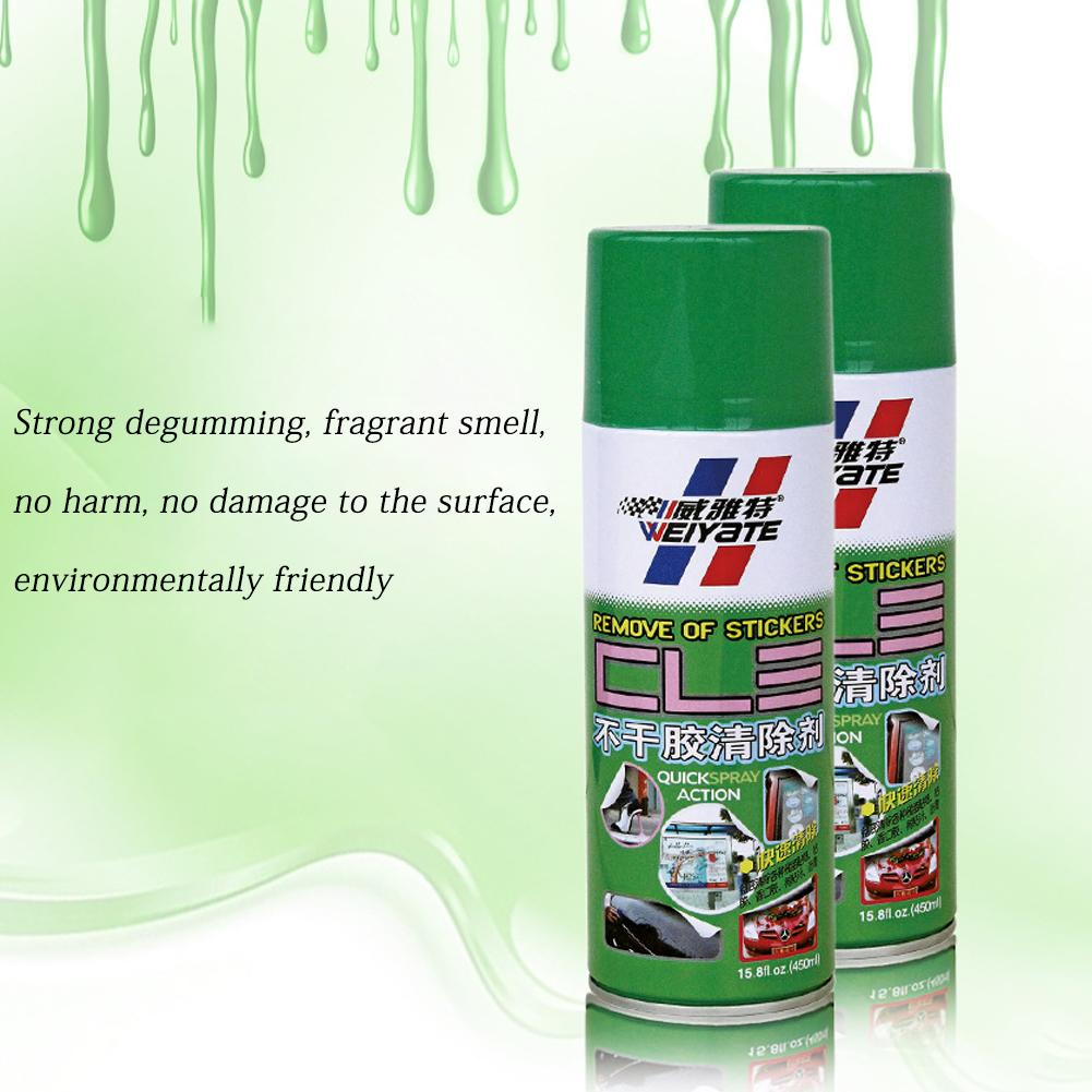 450ML Self-adhesive Remover Car Paint Remover Adhesive Degumming Agent Residual Glue Cleaning Agent