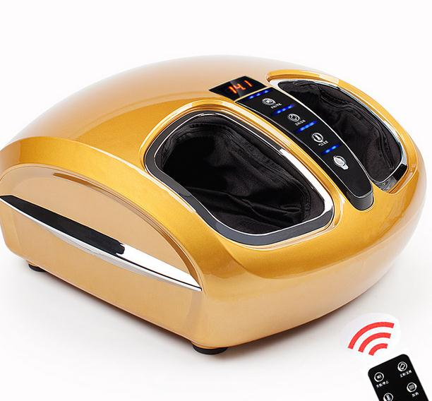 Comfortable acupoint massage foot massage machine infrared heating equipment with airbag feet foot massager
