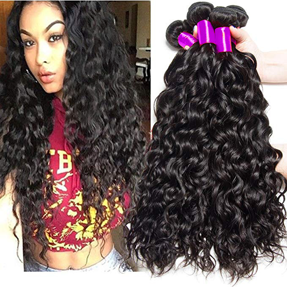 Jaycee Peruvian Water Wave Bundles Deals 100% Human Hair Weave Bundle Extensions Remy Peruvian Hair Bundles Cheveux Humain