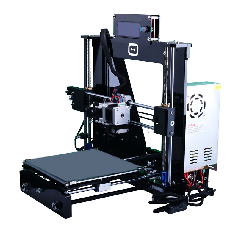 European Conformity New Upgraded Reprap Prusa i3 KS-i3 DIY Full Acrylic 3D Printer Kits LCD Free Shipping