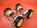 Envío libre 4WD Inteligente Robot Car Chasis Kits para arduino con Velocidad Encoder Nuevo