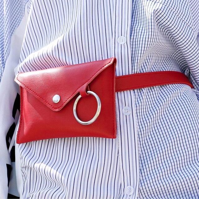 0c4c51ecd6a Women s Small Wallet Casual Joker Mini Phone Bags Lady Belt Waist Belt  Woman Waist Belt Decoration Bag Ladies Belt Pockets