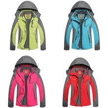 Женская куртка из горной кожи, весенне-осенняя дышащая водонепроницаемая флисовая куртка, пальто для отдыха на природе, походов, походов, тонкая куртка