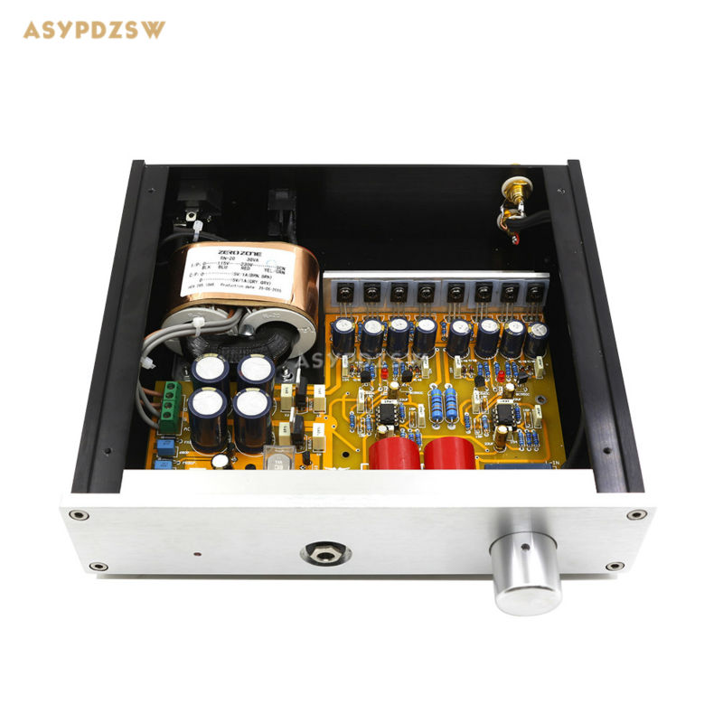 Completed classic reproduction HD-8-A1-PRO (The third generation Baia A1 and tube version) Headphone power amplifier gzlozone finished classic hd 8 a1 pro headphone amplifier