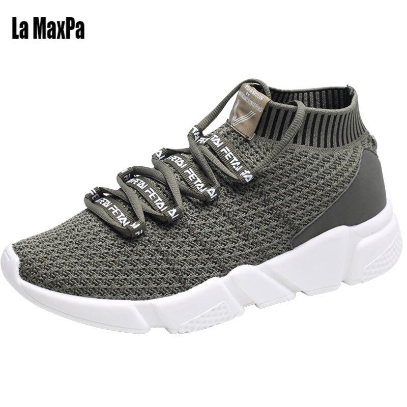 Sport Shoes Men Designer Sneakers For Men Shose Breathable Mesh Rubber Sole Outdoor Walking footwear lightweight Sneakers 2018