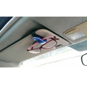 Image 4 - Luxus Auto Brillen Halter Clip Sonnenbrille Halter Rahmen Universal Auto Styling Gläser Clip Autos Zubehör