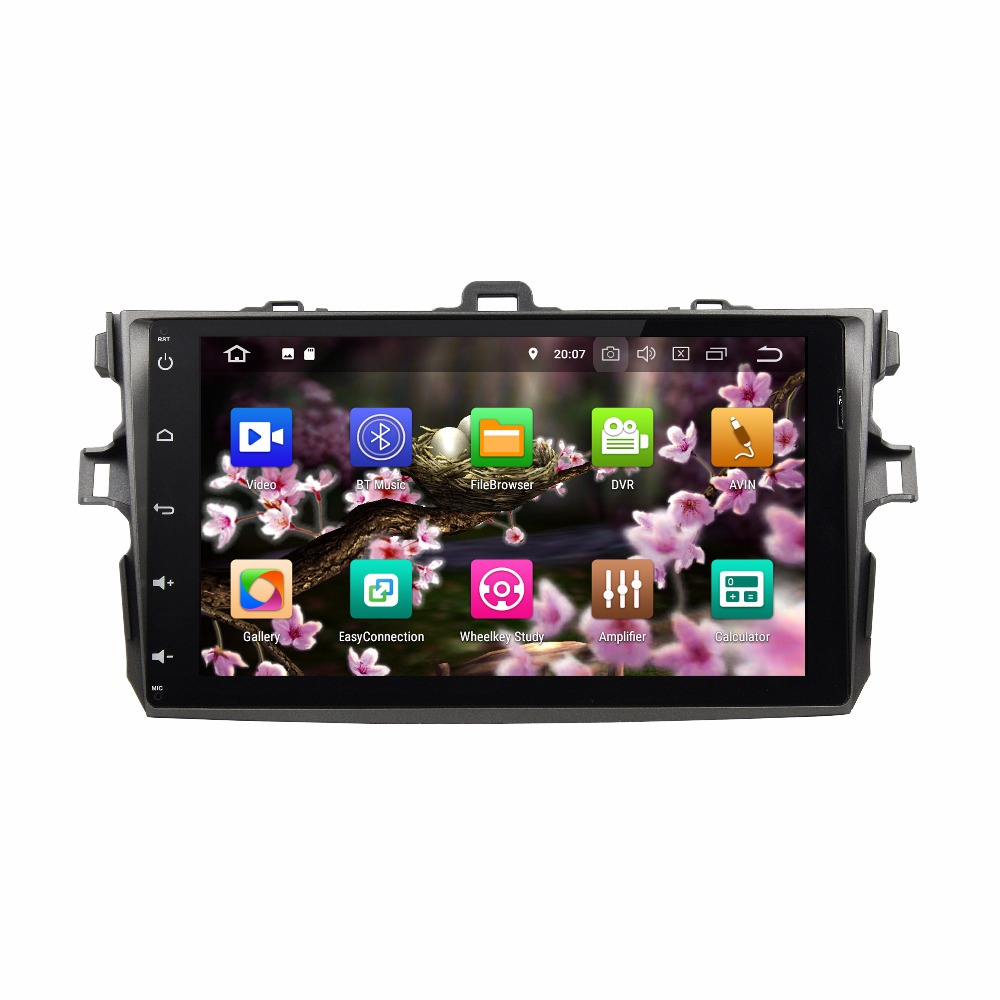 KLYDE 8 Core 32GB 9 2 Din Android 8.0 For Toyota COROLLA 2006 2011 Car Multimedia Player Without DVD