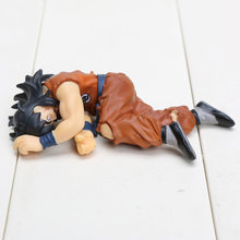 4''10cm Dragon Ball Z Yamcha Dead Ver Anime PVC Figure HG Son Goku Friend Collection Kids Toys Gifts(China)