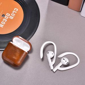 Image 3 - Luxury Anti lost earpods hook for Airpods holder headphone case silicon sport ear hook air pods protection earbuds accessory