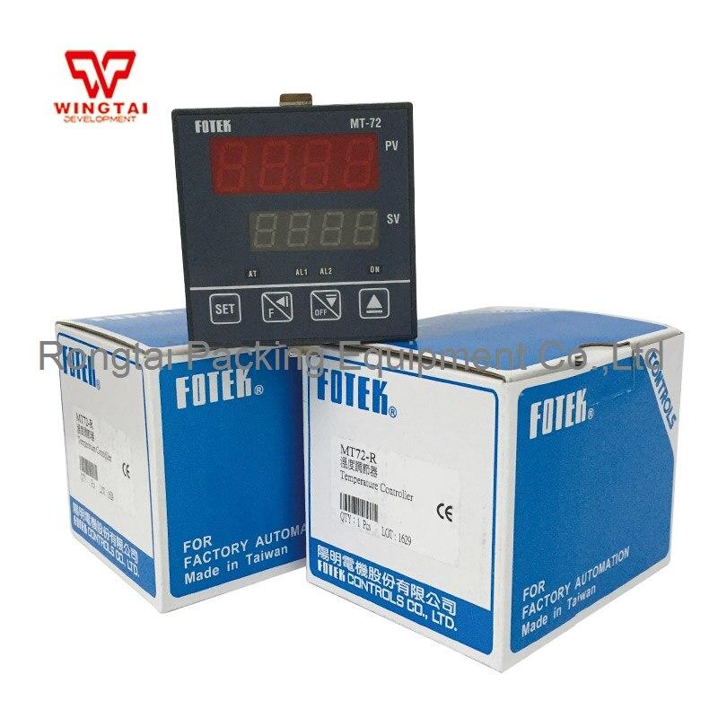 Taiwan Intelligent Temperature Controller Fotek MT72-R