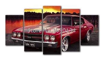 5D DIY Diamond Painting Car 5pcs Diamond Painting Cross Stitch Kits 3D Diamond Embroidery Full Diamond Mosaic Wall Painting фото