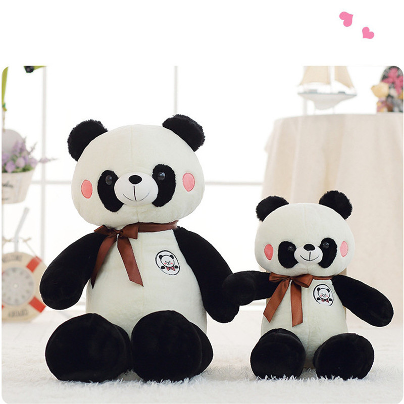160cm Giant Black And White Panda Doll Soft Stuffed Animal Panda Doll for Christmas Gifts New Year Gifts Juguetes Brinquedos fancytrader new jumbo panda bear plush toy giant soft stuffed animals panda doll 250cm 98inch birthday christmas gifts