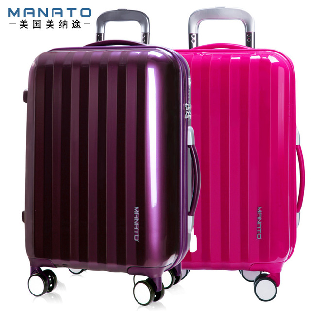 MANATO ABS 24 Inch Unisex Trolley Luggage Case Board Chassis Hard Luggage Bags Solid Aluminum Frame Suitcase Travel Boxs Luggage