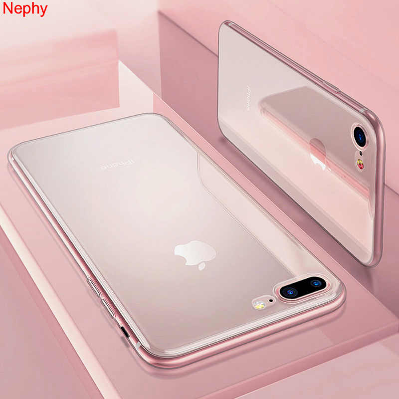 Nephy Zachte Siliconen Clear Case Voor Iphone X Xr Xs Max 10 Iphone 6 S Plus 5 5S 5SE 7 8 Plus 6Plus 6Splus 7Plus 8 Plus Back Cover