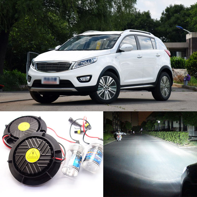 Generation All In One Lower Beam Error Free 9005 HB3 HID Lights For Kia Sportage R 2016-2017