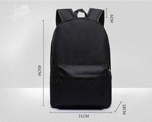 Image 4 - Japan Anime Naruto Backpack Printing Cool Night Lumious School Bag for Teenagers Cartoon Travel Rucksack Oxford Mochila Galaxia