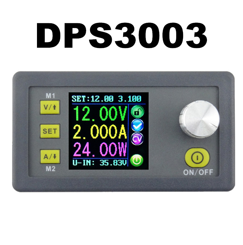 DPS3003 Constant Voltage current Step-down Programmable control Supply Power module buck Voltage converter LCD color 10%OFF digital color lcd display dp50v5a power supply module buck constant voltage current step down programmable 20