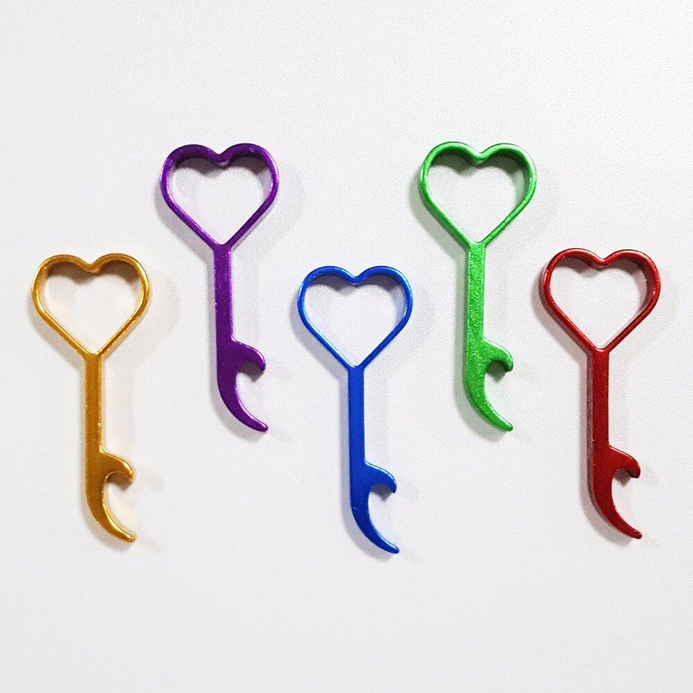 new design wedding favor gift love heart bottle opener keychain key rings keepsake souvenir. Black Bedroom Furniture Sets. Home Design Ideas