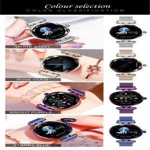 Image 5 - Greentiger ליידי אופנה H1 חכם שעון נשים Bluetooth Waterproof קצב לב צג גשש כושר Smartwatch צמיד