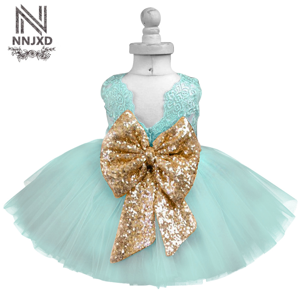 Online Shop Luxury Baby Dress Kids Party Dresses For Girls Clothes ...