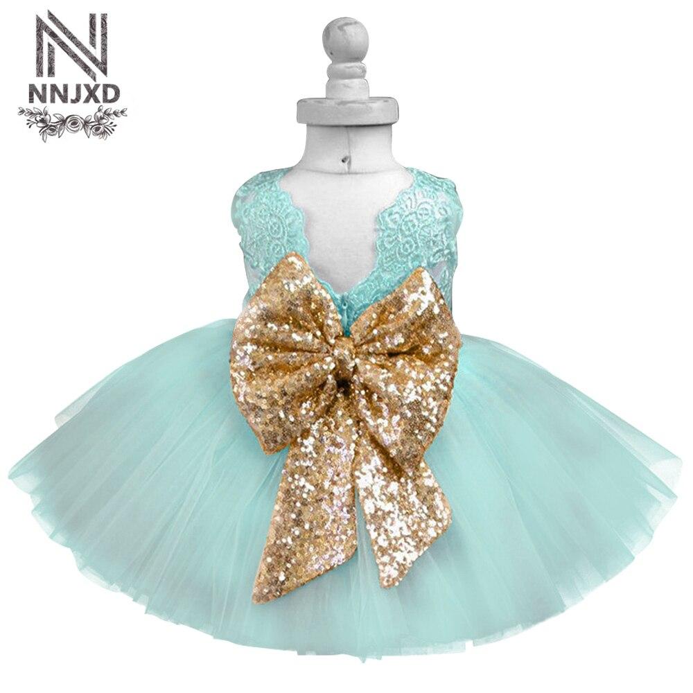 Luxus Baby Kleid Kinder Party Kleider Für Mädchen Kleidung Mädchen 1 ...