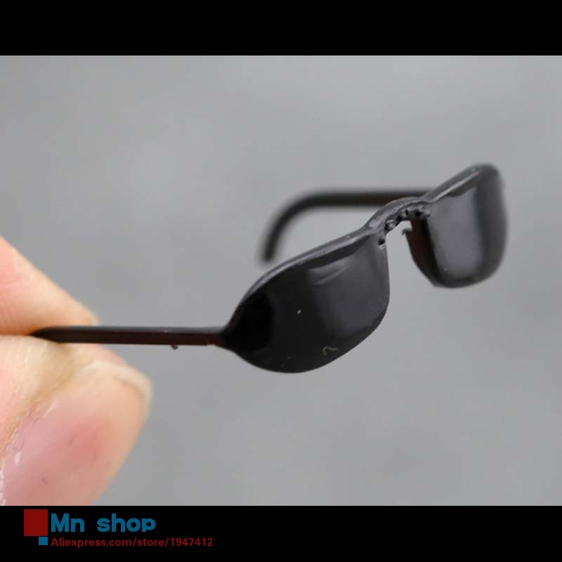 1/6 Scale Black Glasses Sunglasses For 12″ Action Figure Toys Accessory