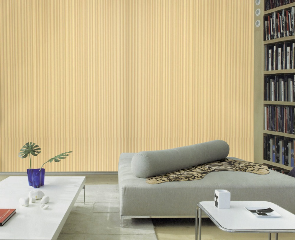 Yellow Damask Wallpaper Home Decor - Home Depot