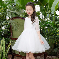 Free Shipping Retail Korea Girl Dresses Children Dress Party Summer Princess Baby Girl Dresses Wedding Dress
