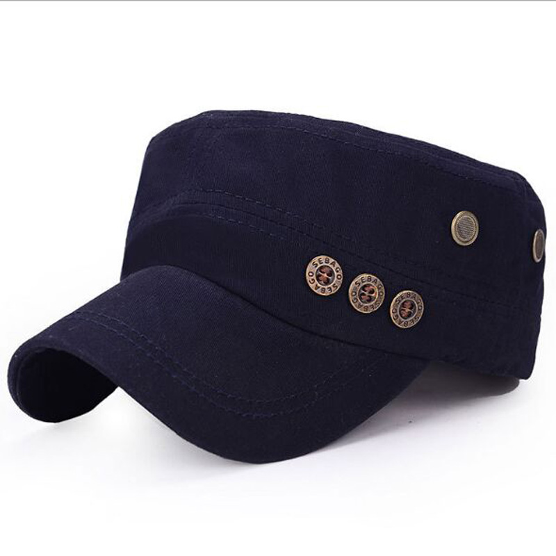 2017 New Fashion Brand Rivet Baseball Cap South Korean Version Snapback 100% Cotton Hats For Women And Men Caps 5 Colors brand kenmont new summer hats for women 100