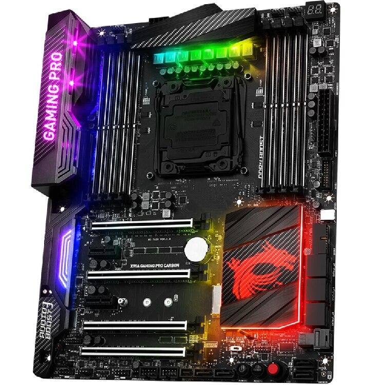 MSI X99A GAMING PRO CARBON RGB Light X99 ATX