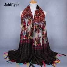 jzhifiyer Free Shipping 10pcs/Lot 90*180cm Ladies Cotton Rose Floral Beach Towel Soft Echarpe Women Scarf Pareo