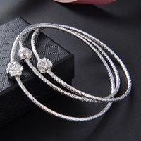 Antique Design Fashion Twist Multi Ring Bracelet Women Hand Chain Fashionble Cuff Bracelet Jewelry Valentine Gift for Ladies