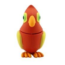 USB Stick Parrot Cartoon Animals 8GB 16GB 32GB 128GB Pen Driveu Disk Woodpecker Memory Card USB CREATIVO Bird USB Flash Drive