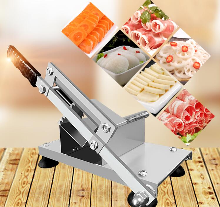 Manual Meat Slicing Machine Household Vegetables Cutting Machine Mutton Slicer 121VV free shipping ht 4 commercial manual tomato slicer onion slicing cutter machine vegetable cutting machine