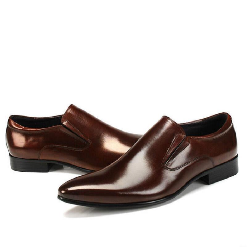 Negócios Mycolen Loafer Homens Noiva De Sapatos Genuínos Preto Oxford Couro marrom Masculinos Da Até Vestido Marca Casuais Rendas Tenis zzqpwrSB