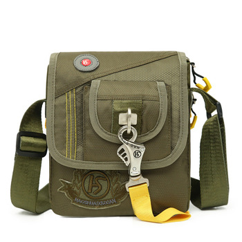 New Arrived Men Single Shoulder Messenger Bag Travel Pouch Military Purse Fashion Trends Male Nylon Flap Cross Body Bags shoulder bag