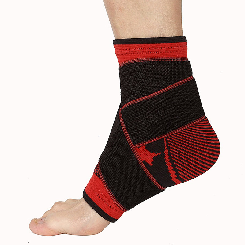 Sports Accessories Ankle Support Bandage Taekwondo Foot Protection Football Ankle Brace Kick Boxing Karate Protector Ankle Weights For Fitness