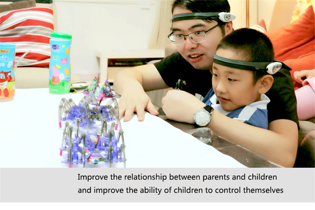 Children's Educational Toys Brain Radio Wave Idea Control DIY Spider Intelligence Robot Toys Brain Wave Detector1+Toy Spider 5