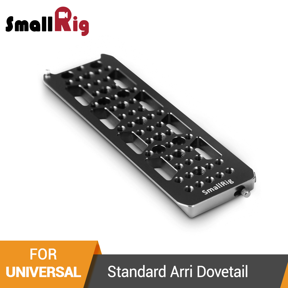 SmallRig Standard Arri Dovetail Plate For DSLR Tripod Shooting Quick Release  Plate  1501SmallRig Standard Arri Dovetail Plate For DSLR Tripod Shooting Quick Release  Plate  1501