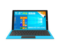 Original 11.6 inch TECLAST TBOOK 16 POWER WINDOWS10 andriod dual os CUP Cherry Trail T3 Z8750
