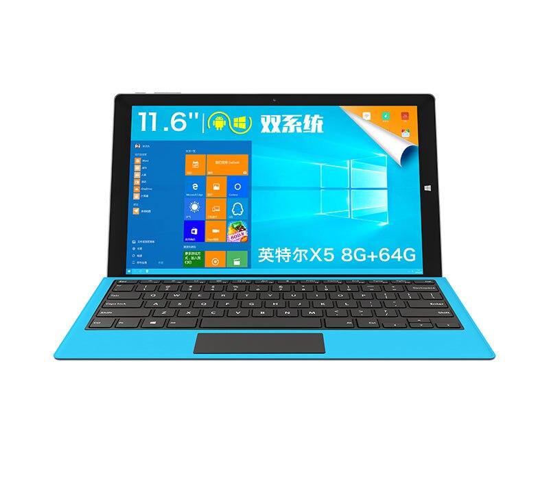 D'origine 11.6 pouce TECLAST TBOOK 16 PUISSANCE WINDOWS10 android double os TASSE Cherry Trail T3-Z8750