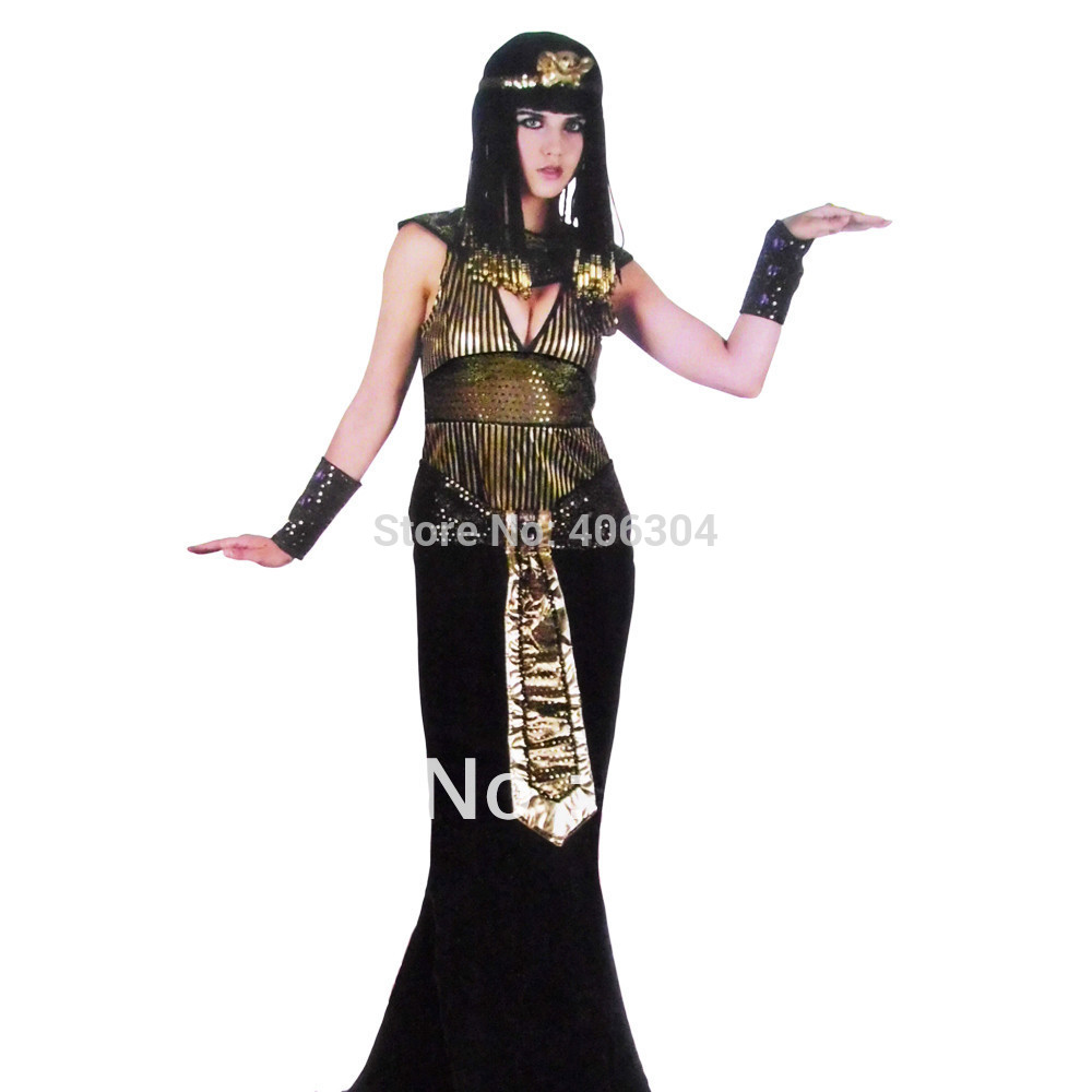 Free shippingHalloween party clothes adult Egyptian Cleopatra Queen Egypt costume set dressheadbandwaistband5pcs in a set on Aliexpress.com | Alibaba ...  sc 1 st  AliExpress.com & Free shippingHalloween party clothes adult Egyptian Cleopatra Queen ...