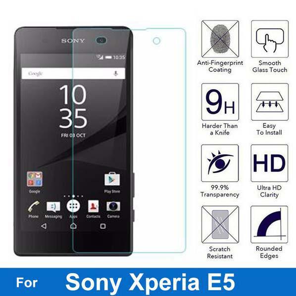 Защитное стекло, закаленное стекло 9H для Sony Xperia E5 F3311 F3313 LTE