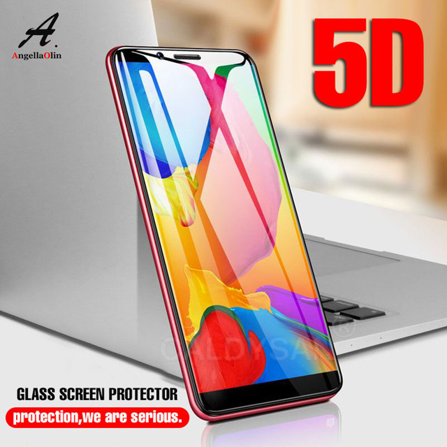 5d Curved Tempered Glass For Xiaomi Mi A2 Lite Max 3 8 Se Mix 2s 2