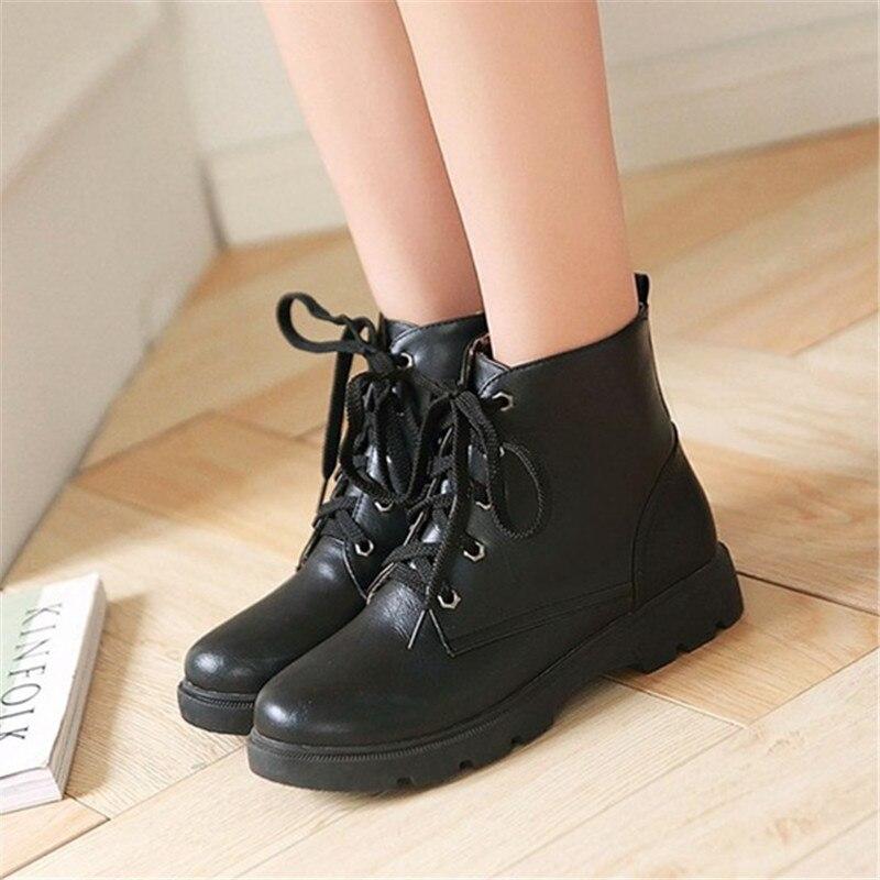 53c5eabf3f7 συν μέγεθος 34-43 Μόδα Γυναικεία Lace μέχρι κλασικά παπούτσια Flat ...