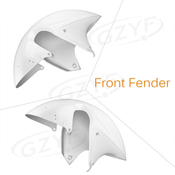 ABS Plastic Front Fender Fit for SUZUKI HAYABUSA 1999-2007 GSX1300R Injection Mould Motorcycle Fairing Cover Parts White