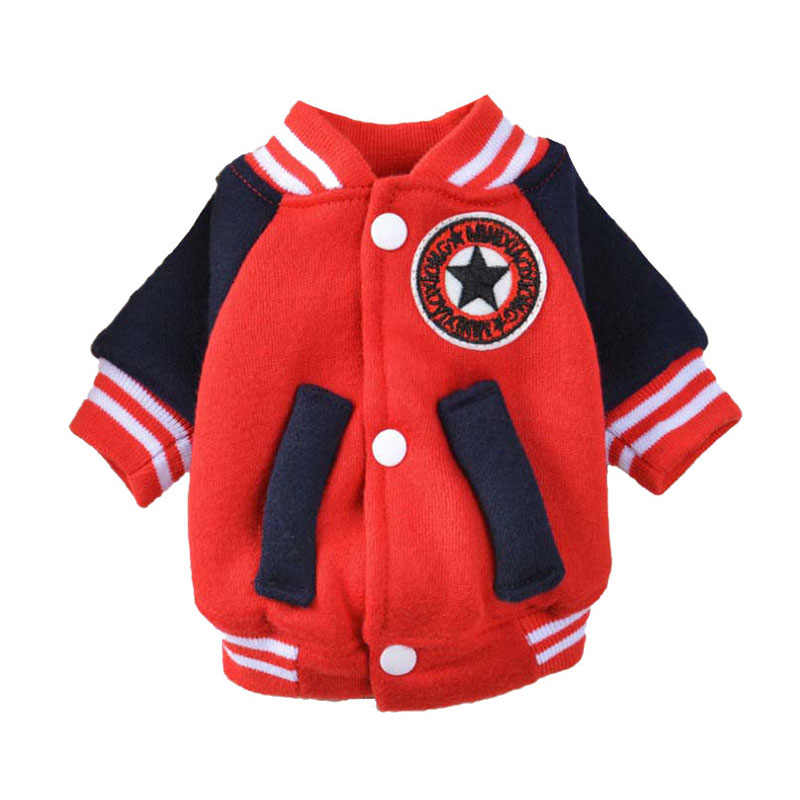 Fashion Small Dog Pet Cat Jacket Puppy Coat Hoody Soft Comfortable Cotton Pet Clothing for Winter Fast Shipping Spot Stock XS-XL